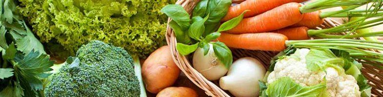 Proprietà' nutrizionali della verdura